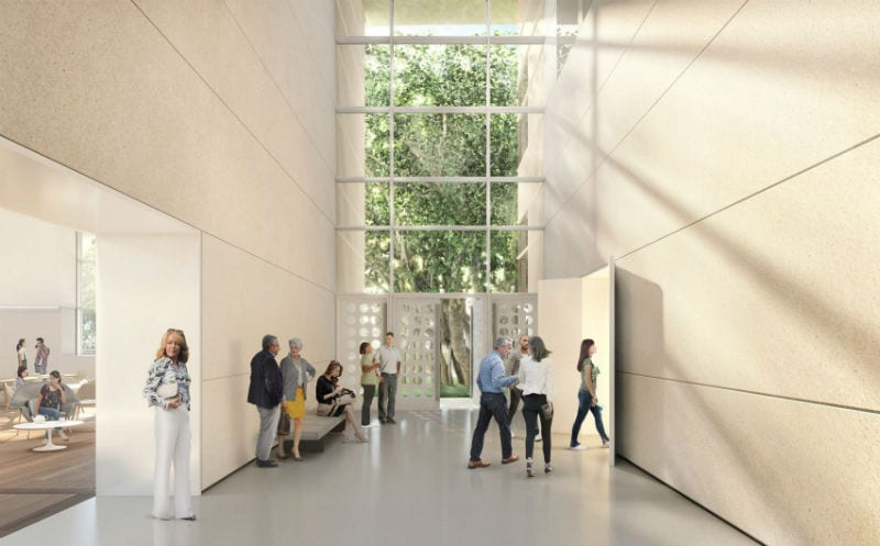 Norton museum of art expansion plans by Norman Foster