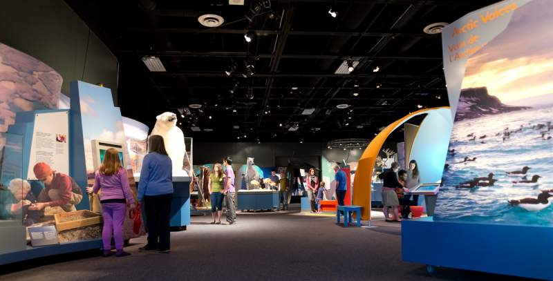 arctic voices exhibition by science north