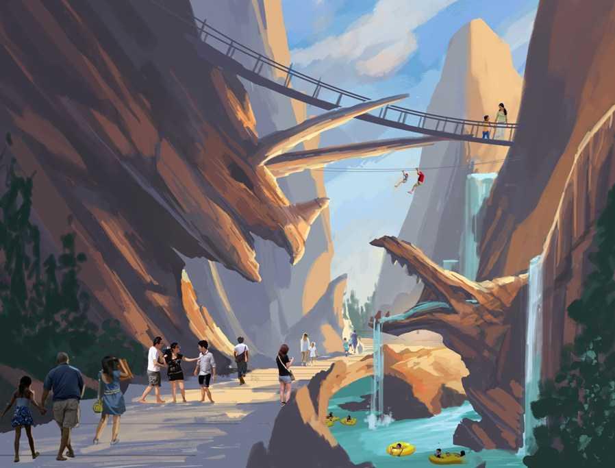 ChishuiPeninsula Resort canyon
