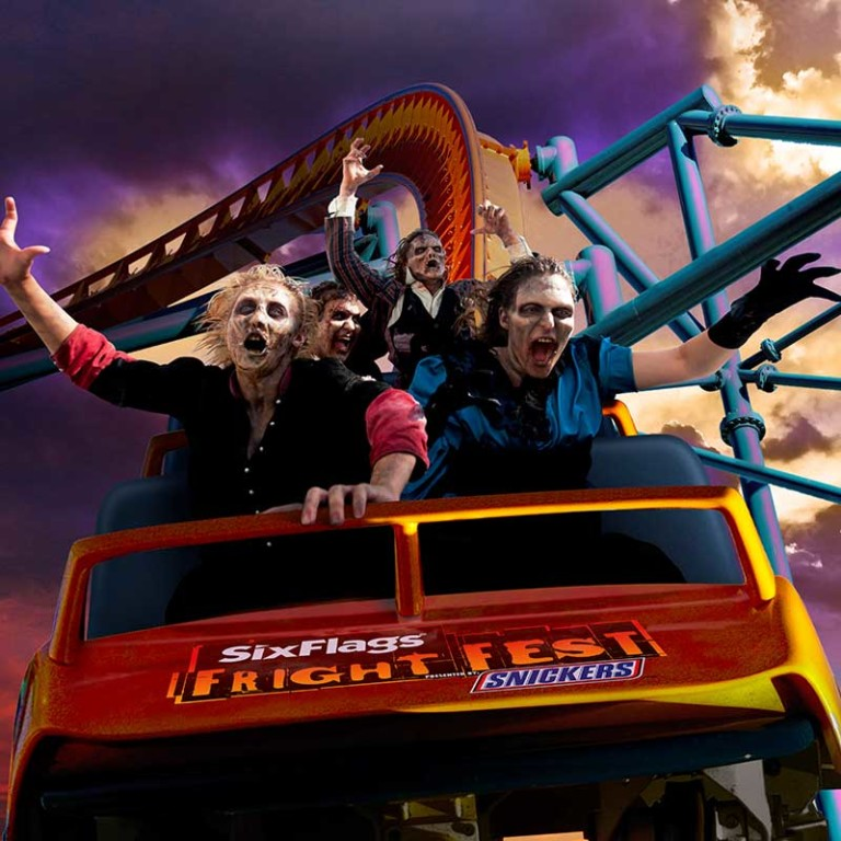 fright fest coffin challenge six flags