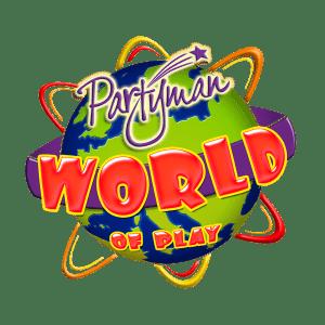 Partyman World of Play Logo