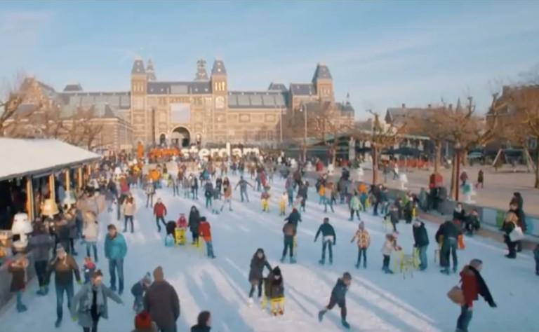Amstersam ICE Swedice ice rink