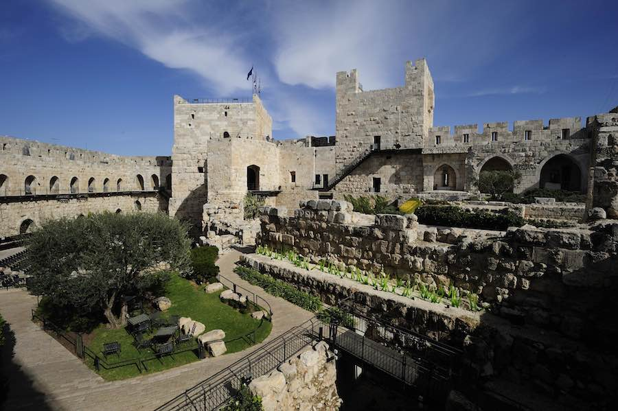 The Tower of David Museum. credit. Naftali Hilger.