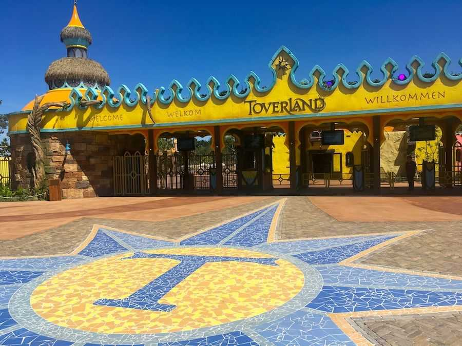 The new entrance to Toverland