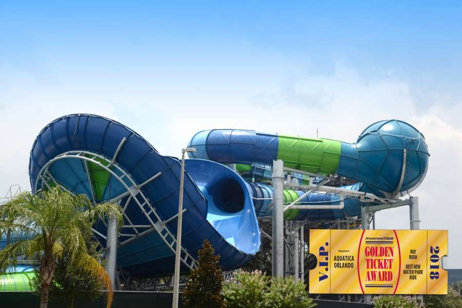 ray rush slide inspired by manta ray wins golden ticket