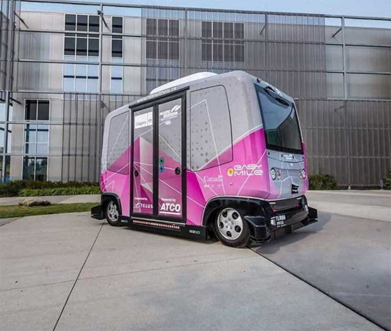 self driving shuttle calgary
