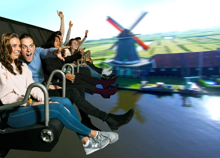 people aboard this is holland flying theatre by leisure expert group