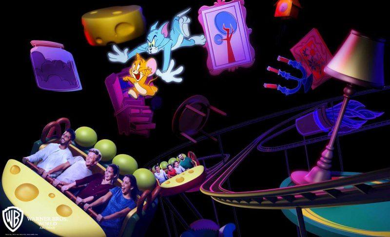 tom & jerry coaster warner bros world