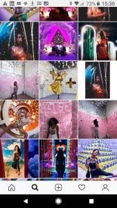 Instagrammable attractions