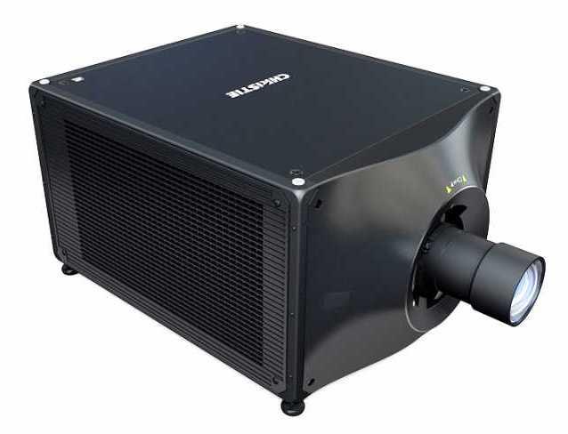 Christie D4K40-RGB smallest, lightest laser projector