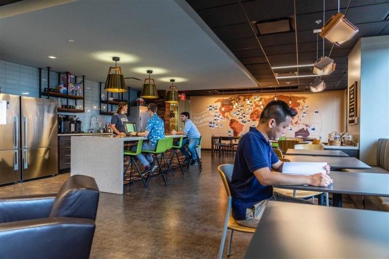 "PGAV's newly-renovated ""Cafe"""