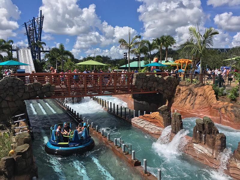Infinity Falls at SeaWorld - Theme Park Worldwide, Intamin