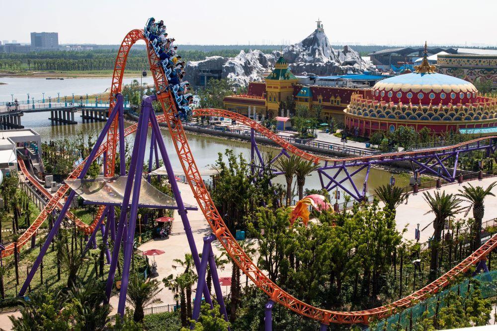 Steel Dolphin Intamin roller coaster