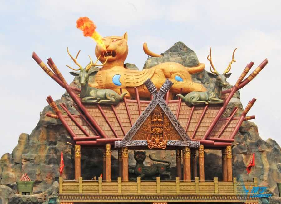 The History of Ancient Yunnan, Huanyu, Lasereffect