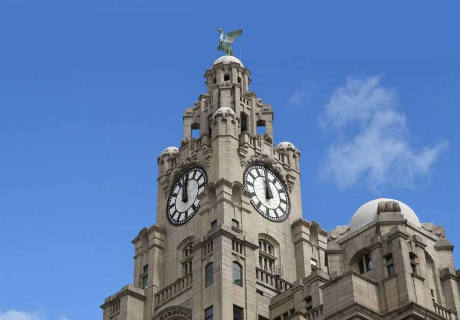 clock tower liver building liverpool