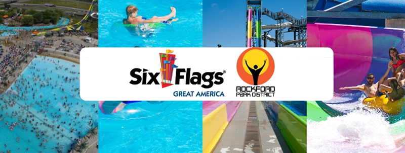 Magic Waters waterparks six flags