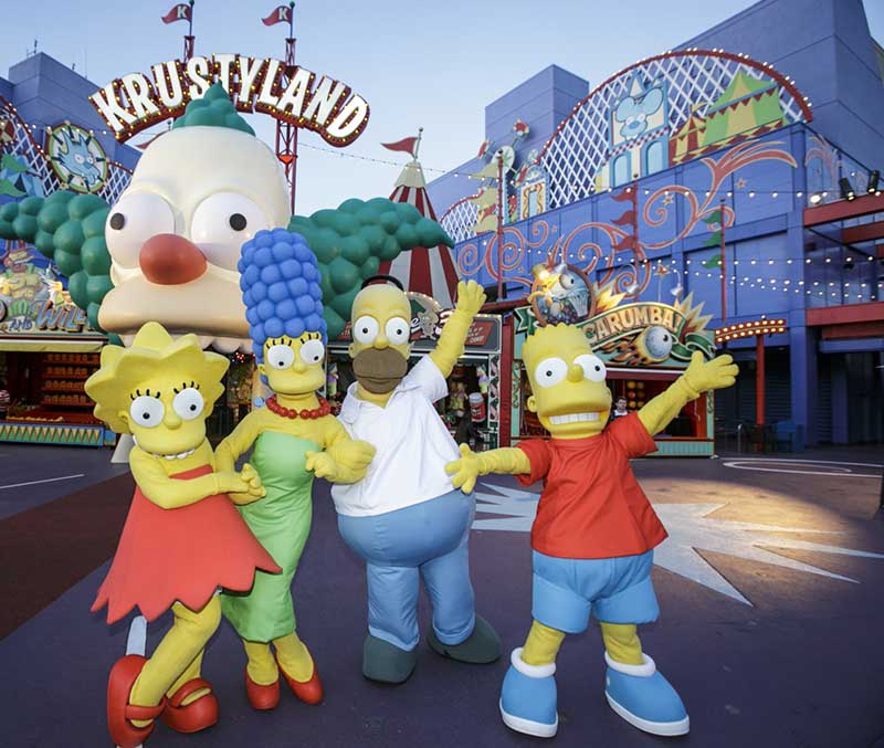 Simpsons Springfield at Universal