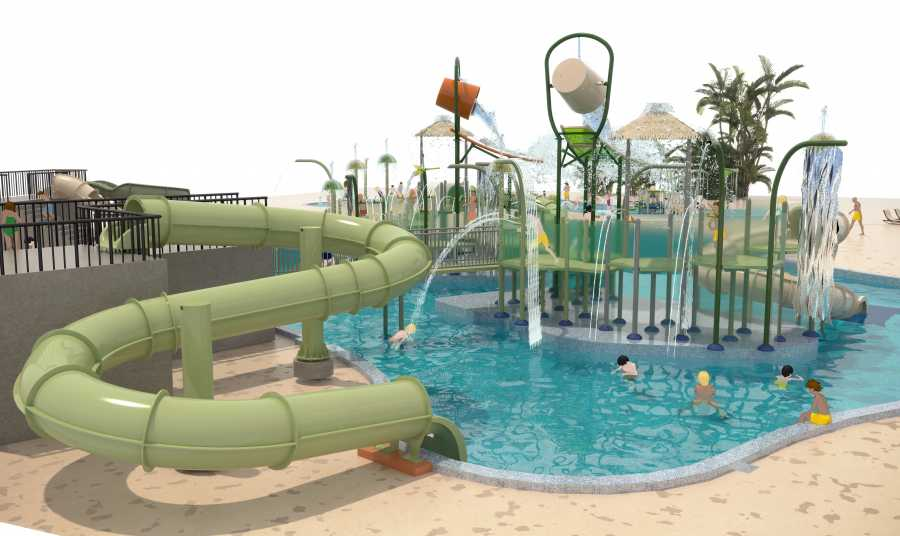 circle by melia waterpark at Paradisus Palma Real