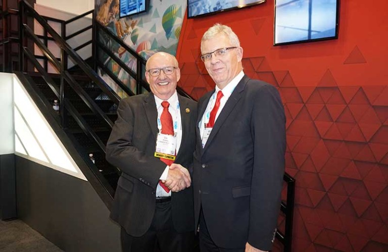 Dynamic Duo: CEOs Dick Chance (Chance Rides) and Guy Nelson (Dynamic Attractions) are working together, making their companies the largest source for rides in North America.