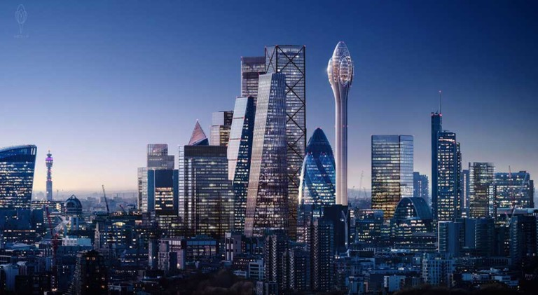 The Tulip foster + partners