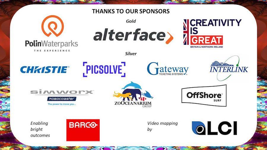 blooloop iaapa party 2018 sponsors.