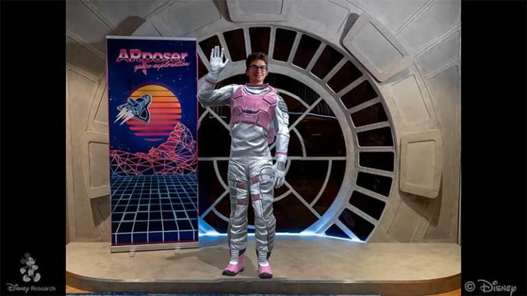 disney research ar costume