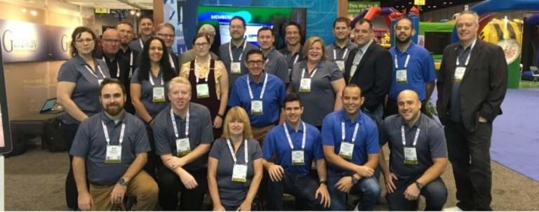 gateway ticketing team shares expertise at iaapa team