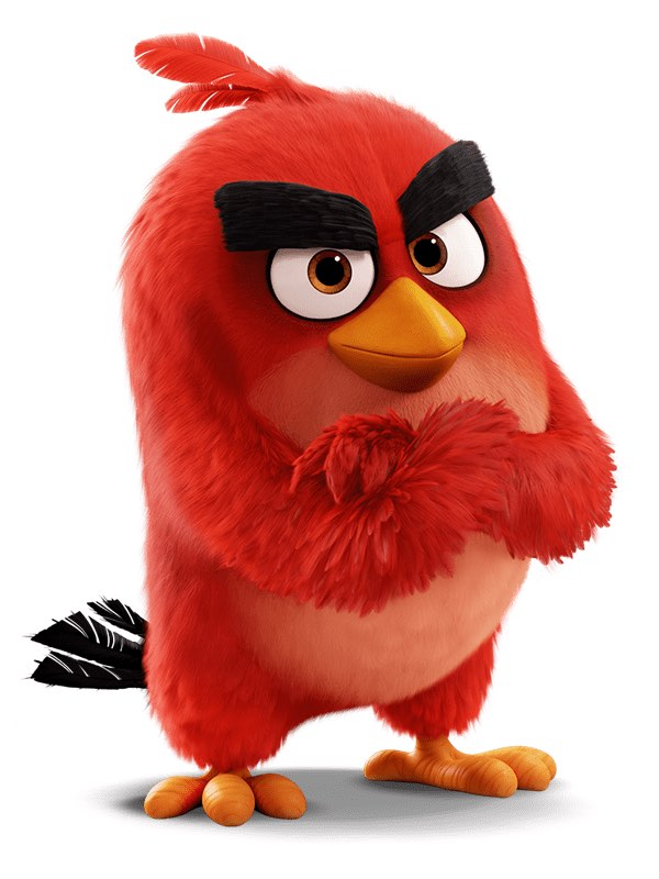 rovio angry birds red bird