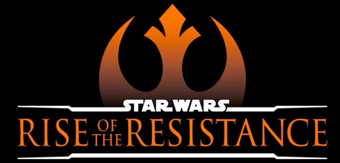 star wars rise of the resistance logo.