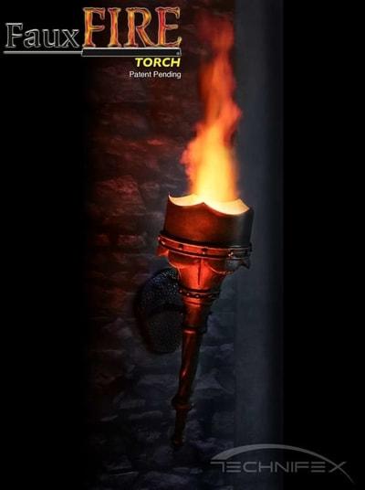 fauxfire torch technifex