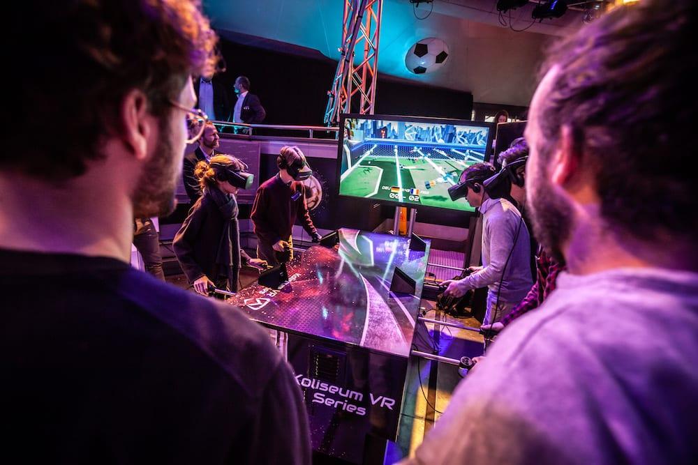 Kynoa VR at AUREA Awards MackMedia