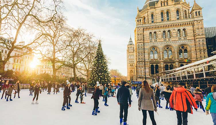natural history museum ice rink christmas 2018