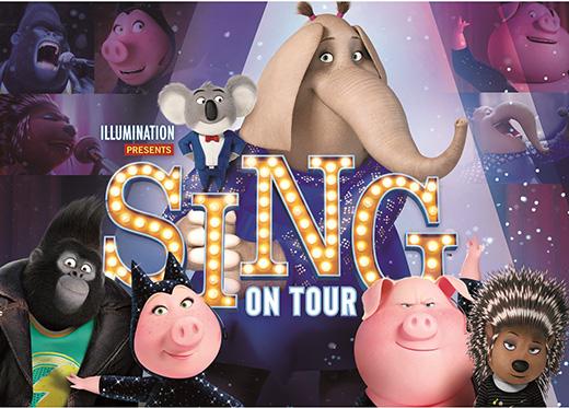 sing on tour universal japan