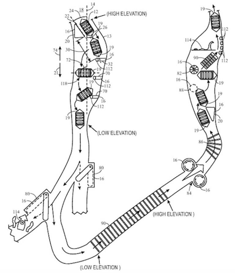universal flume direction patent