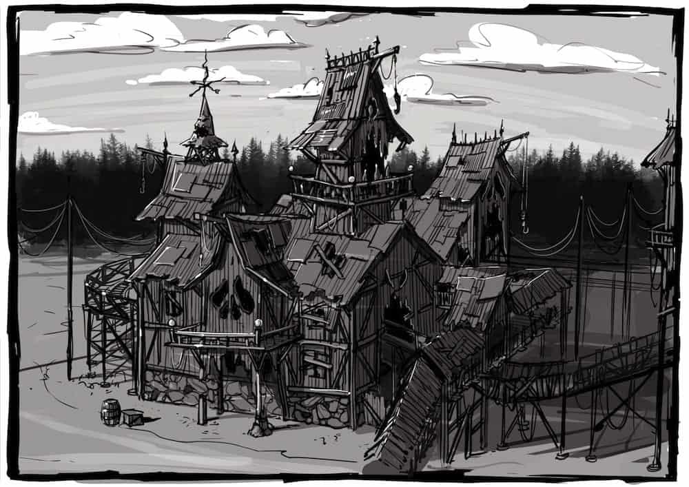 Majaland-Kownaty-woodie-station-sketch