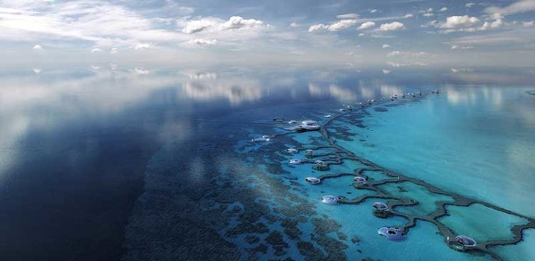 the red sea project saudi