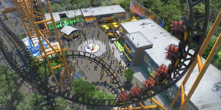 The Steel Curtain, Kennywood, extreme coasters