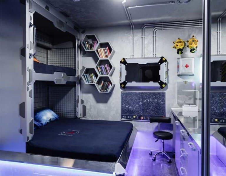 space cabin in guardian resort