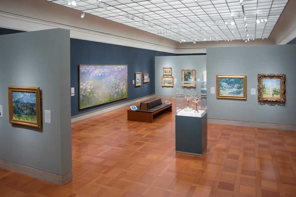 Art on display at The Bloch Galleries at The Nelson-Atkins Museum of Art