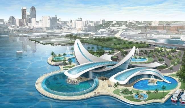 First Coast Aquarium concept for Jacksonville from AquaJax