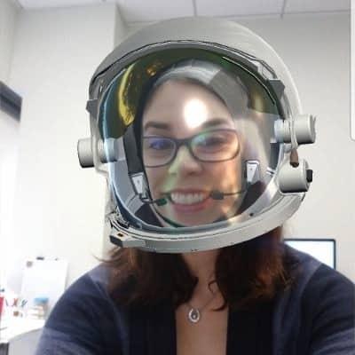 Guru Space Center Houston helmet