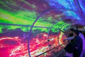 Information Systems Europe 2019-Amsterdam-tunnel-with-media