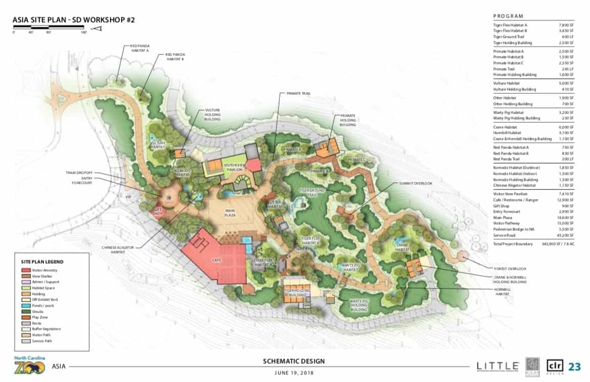 NC zoo asia expansion plans