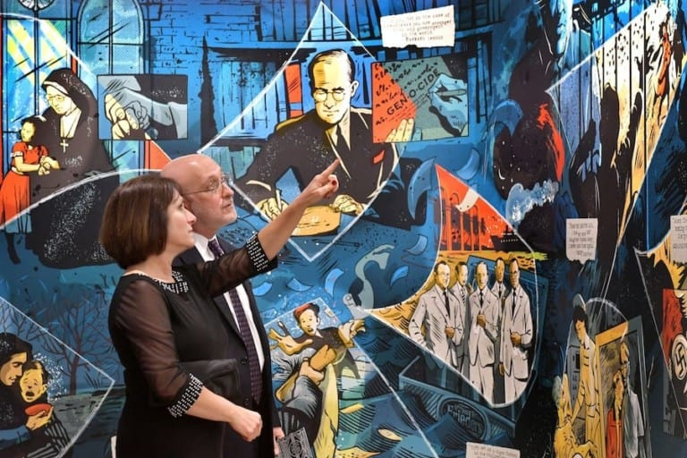 Nancy-David-Wolf-Holocaust-&-Humanity-Center-Neltner-Mural