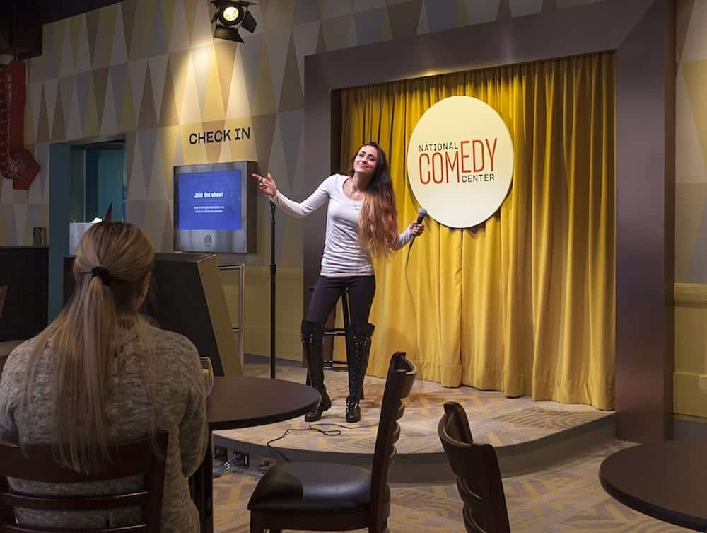 The National Comedy Center stand up karaoke