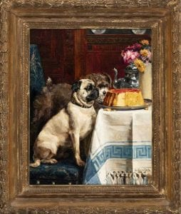 Sweet Temptation or Willpower by Charles Van den Eycken at AKC Museum of the Dog | blooloop