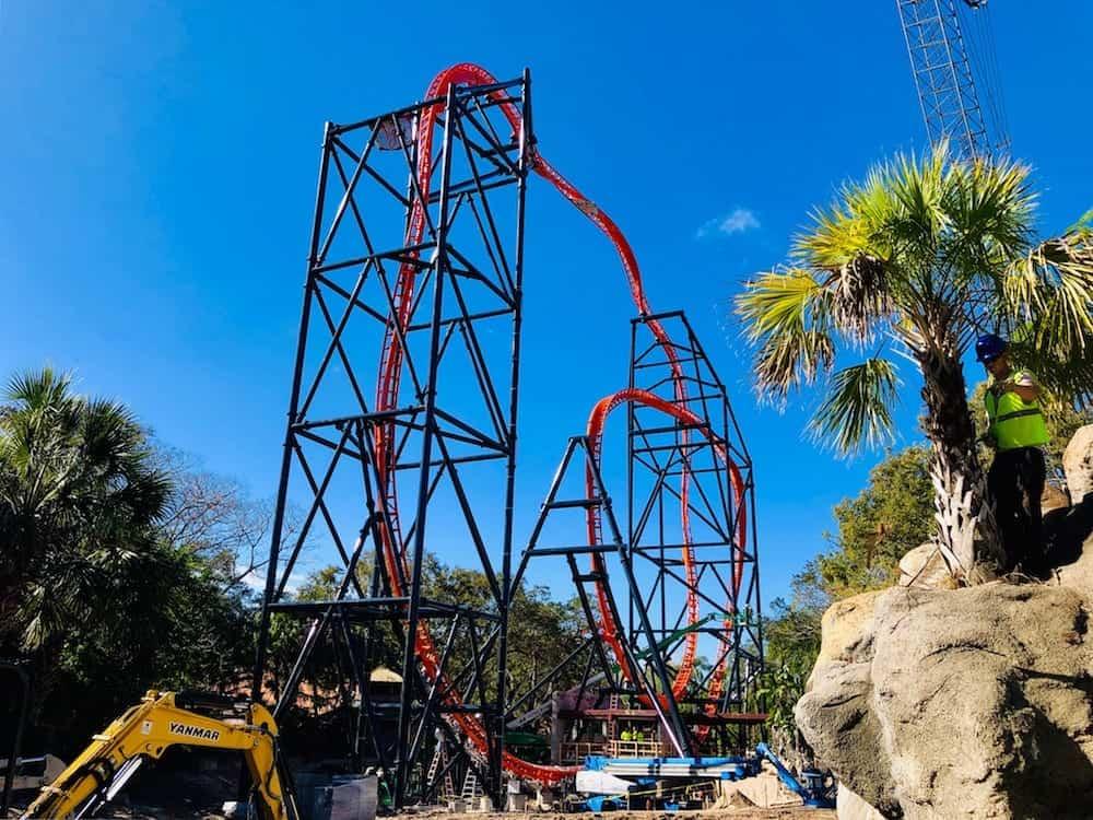 construction busch gardens tampa tigris floridas roller coaster capital