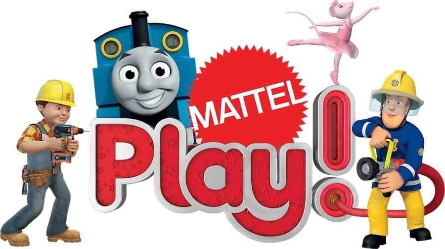 mattel play logo multi character.