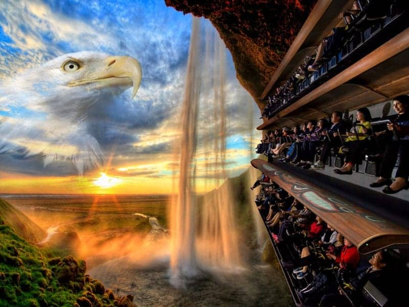$20M Flying Theatres Attraction Coming to The Island in Pigeon Forge