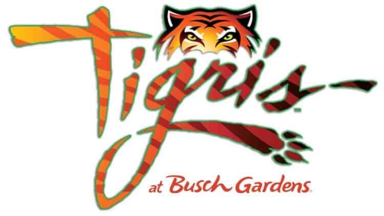 tigris at busch gardens tampa logo